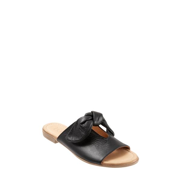 ブエノ レディース サンダル シューズ Joley Slide Sandal Black Leather
