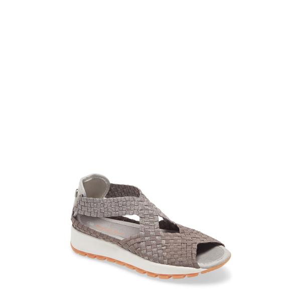 バーニーメブ レディース サンダル シューズ Tara Blossom Sandal New Smoke Shimmer Fabric