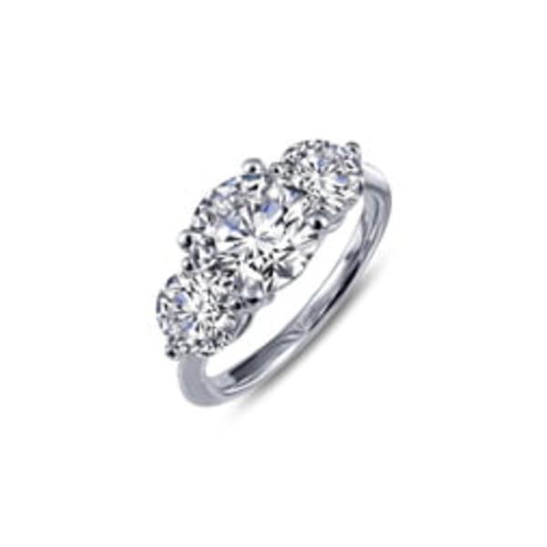 ラフォン レディース リング アクセサリー Simulated Diamond Ring Silver