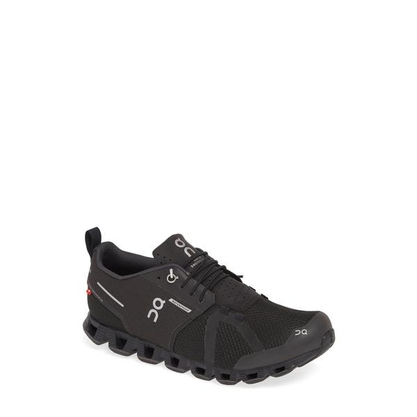 オン メンズ スニーカー シューズ Cloud Waterproof Running Shoe Black/ Lunar