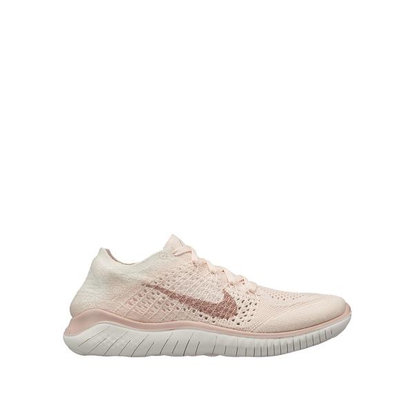 ナイキ レディース スニーカー シューズ Women's Free RN Flyknit Running Shoes Rose Beige