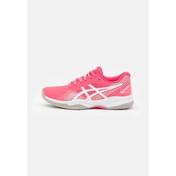 アシックス レディース スポーツ テニス pink cameo お求めやすく価格改定 white - 全商品無料サイズ交換 海外 tennis shoes GEL-GAME 8 Multicourt