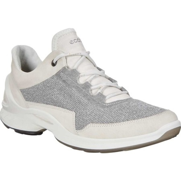 エコー レディース スニーカー シューズ BIOM Fjuel Mesh Sneaker Shadow White Leather