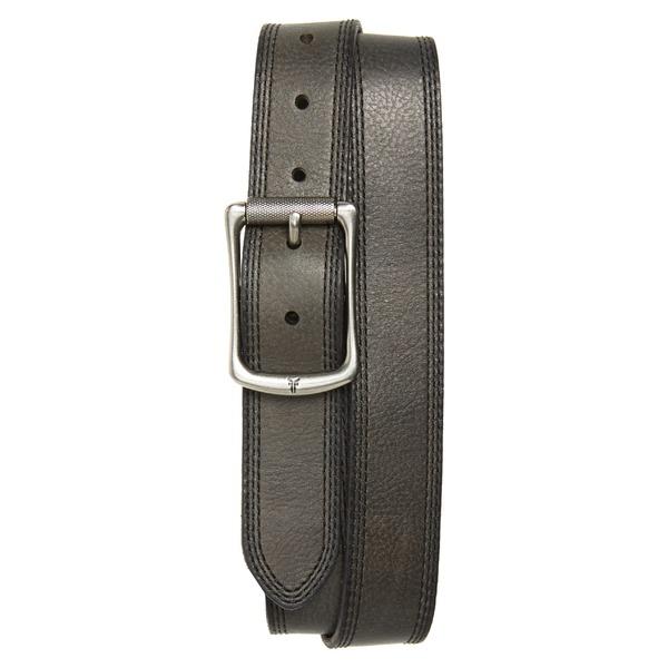 フライ メンズ ベルト アクセサリー Frye Engineer Leather Belt Black