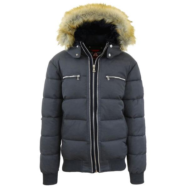 <title>ギャラクシーバイハルビック メンズ アウター ジャケット ブルゾン Dark Gray 全商品無料サイズ交換 Men's Heavyweight Jacket With Detachable Faux 40%OFFの激安セール Fur Hood</title>