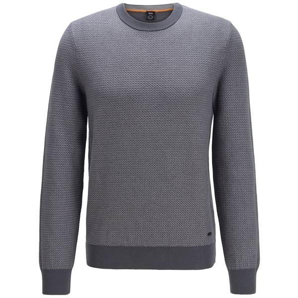 品多く ヒューゴボス メンズ ニット&セーター アウター BOSS Men&39;s Arubyno Regular-Fit Sweater Medium Grey, 摂津市 7f9d94fd