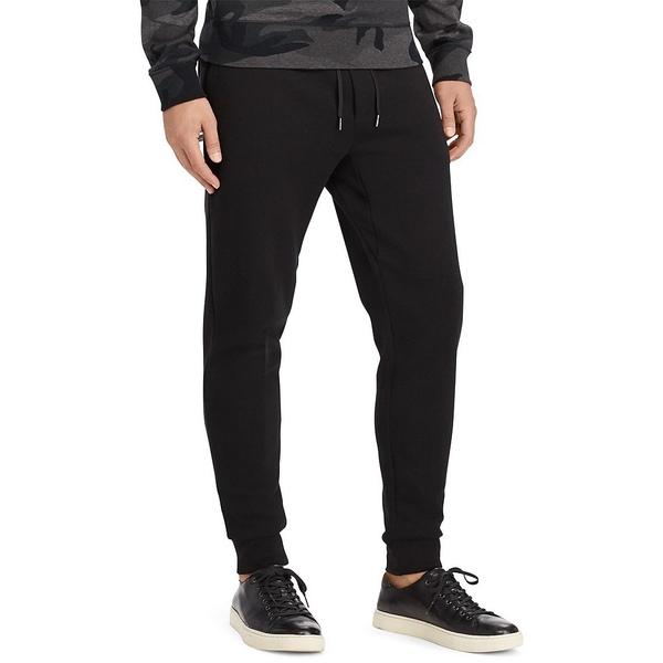 <title>ラルフローレン メンズ ボトムス カジュアルパンツ Polo Black 全商品無料サイズ交換 Big 送料無料新品 Tall Double-Knit Tech Jogger Pants</title>