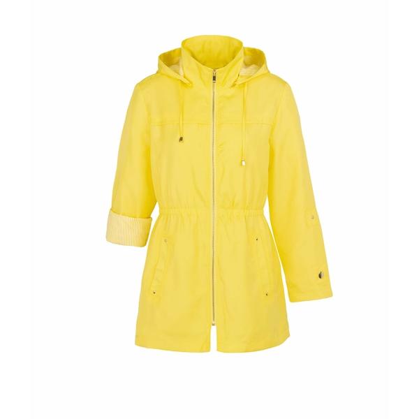 トリバル レディース コート アウター Coat w/ Detachable Hood Lemon