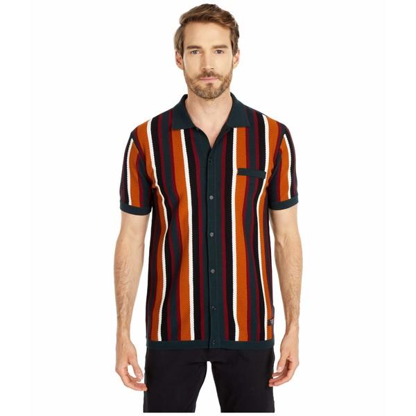 スコッチアンドソーダ メンズ シャツ トップス Retro - Inspired Knitted Shirt Combo A