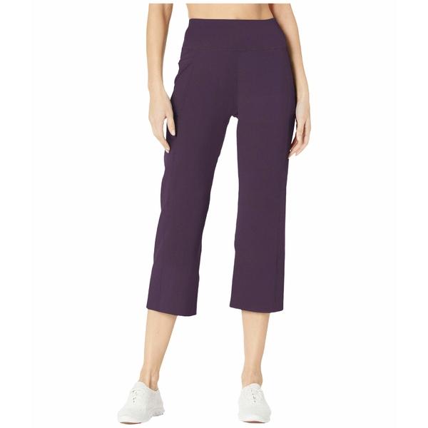 スケッチャーズ レディース カジュアルパンツ ボトムス Go Walk Go Flex Crop Pants Dark Purple