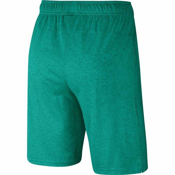 ナイキ メンズ ハーフ ショーツ ボトムス Dri FIT Training Shorts Neptune Green Heather Black8mNn0vw
