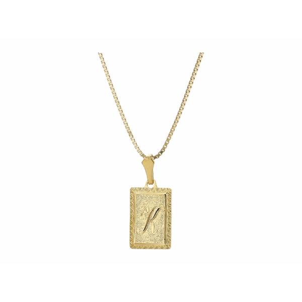 バネッサモーネイ レディース ネックレス・チョーカー・ペンダントトップ アクセサリー The London Initial Necklace Gold/K