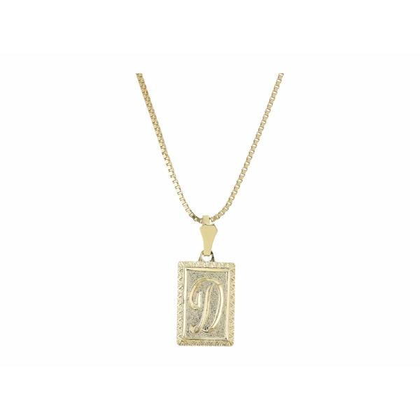 バネッサモーネイ レディース ネックレス・チョーカー・ペンダントトップ アクセサリー The London Initial Necklace Gold/D