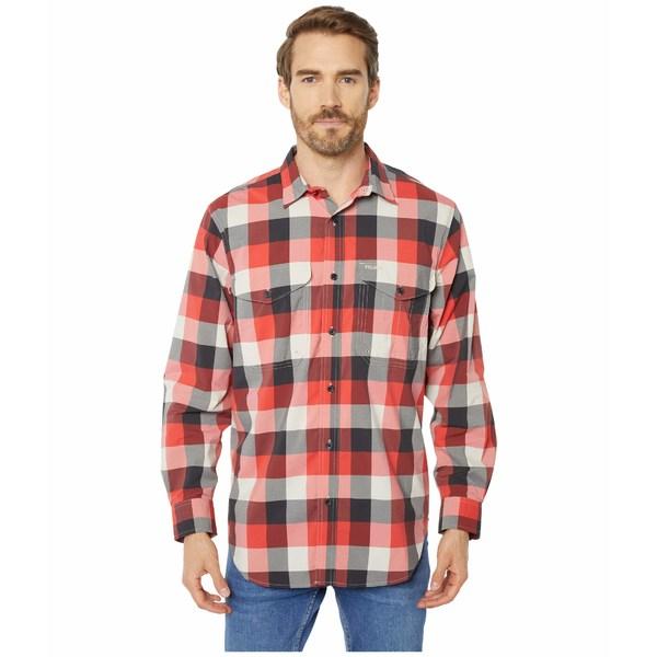 フィルソン メンズ シャツ トップス Twin Lakes Sport Shirt Red/Black/Cream Plaid