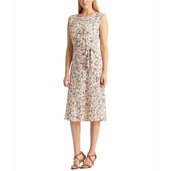 ラルフローレン レディース ワンピース トップス Floral Georgette Dress Pink Multi