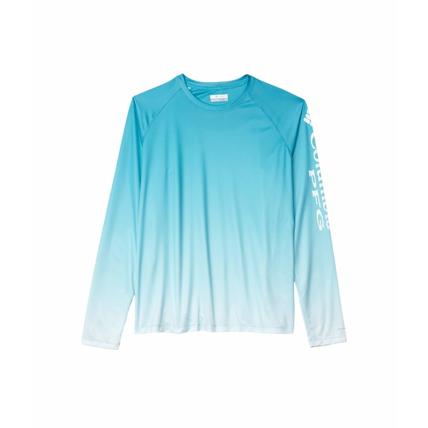 コロンビア レディース シャツ トップス Super Tidal Tee Long Sleeve Shirt Clear Water Gradient