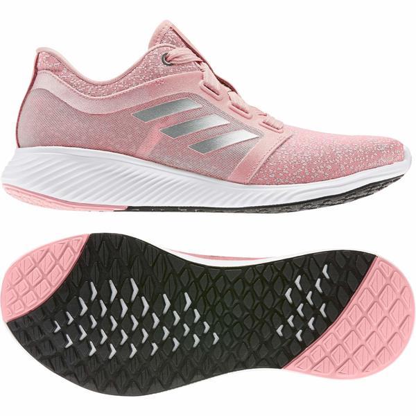 アディダス レディース スニーカー シューズ Edge Lux 3 Glory Pink/Silver Metallic/Footwear White