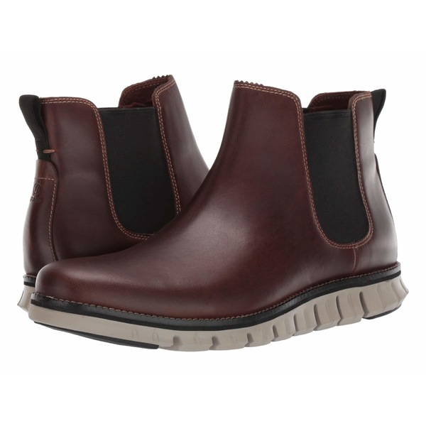コールハーン メンズ ブーツ&レインブーツ シューズ Zerogrand Chelsea WP Waterproof Bourbon Leather/Hawthron