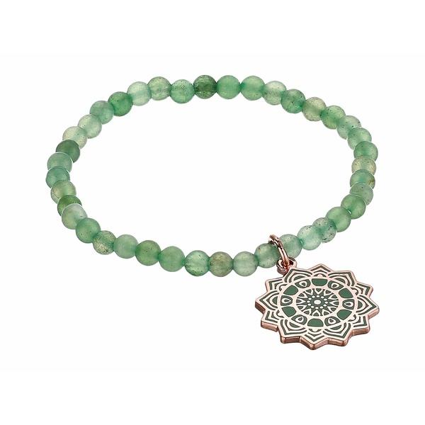アレックスアンドアニ レディース ブレスレット・バングル・アンクレット アクセサリー Heart Chakra Stretch Bracelet Rose Gold