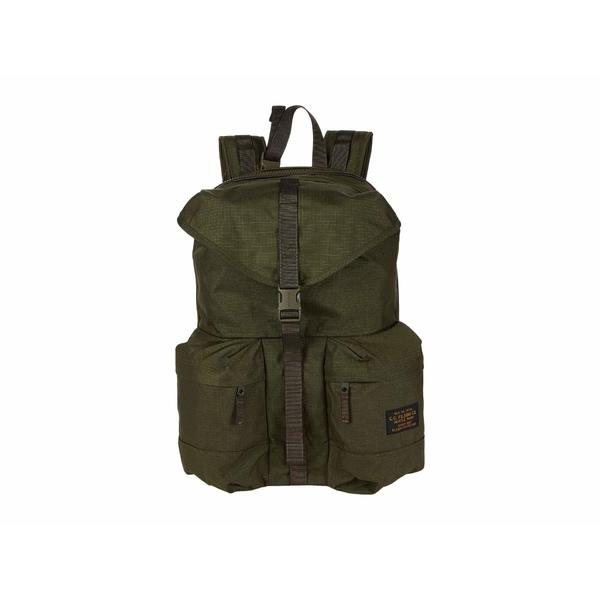 フィルソン メンズ バックパック・リュックサック バッグ Ripstop Nylon Backpack Surplus Green