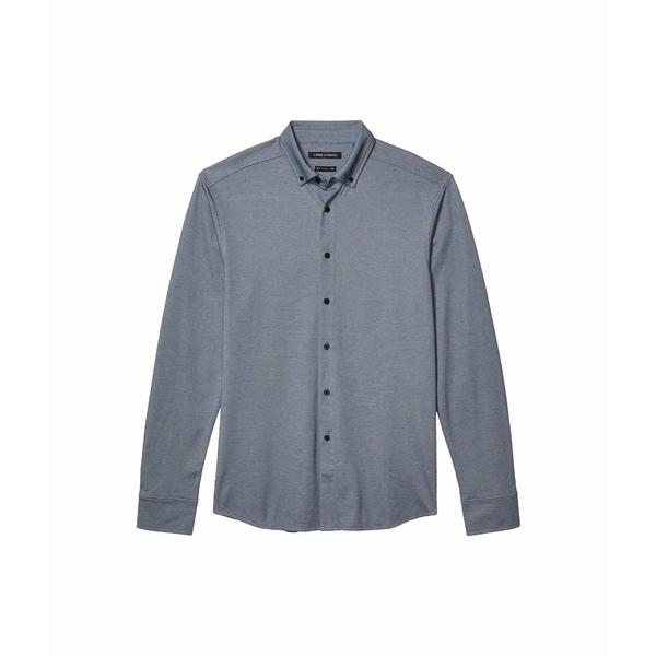 人気No.1 ヴィンスカムート メンズ シャツ トップス Pique Knit Sport Shirt Navy/White Mix, 【キャンプ】中古携帯/スマホ買取 72de7a2c