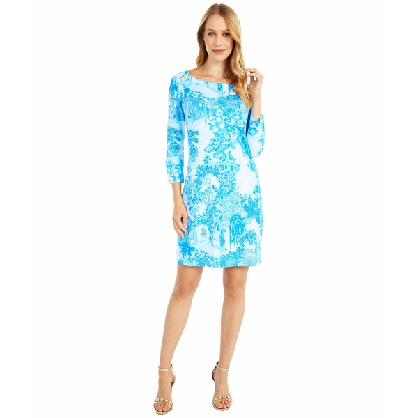 リリーピュリッツァー レディース ワンピース トップス UPF 50+ Sophie Dress Multi Toile Me About It