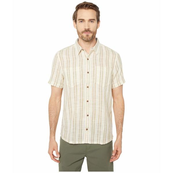 ドード アンドコー メンズ シャツ トップス Salton Short Sleeve Shirt Dark Chino Stripe
