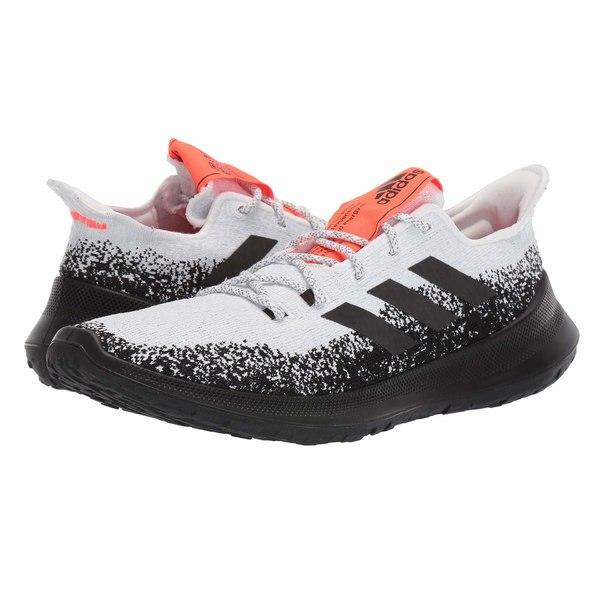 アディダス メンズ スニーカー シューズ SenseBOUNCE + Footwear White/Core Black/Solar Red