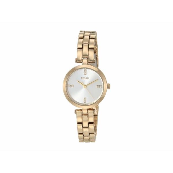 フォッシル レディース 腕時計 アクセサリー 26 mm Caila BQ7025 Gold