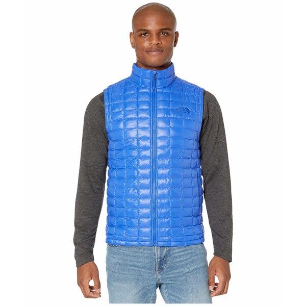 ノースフェイス メンズ コート アウター Thermoball Eco Vest TNF Blue