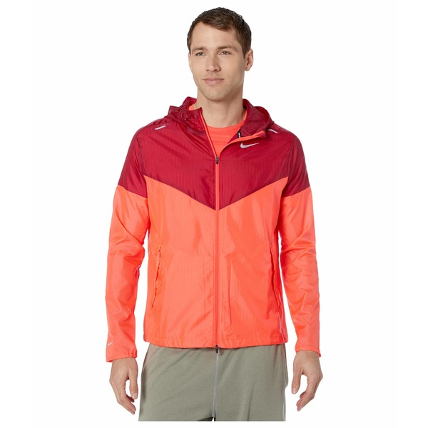 ナイキ メンズ コート アウター Windrunner Jacket Laser Crimson/Noble Red/Reflective Silver