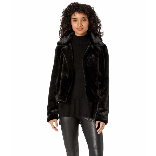ブランクニューヨーク レディース コート アウター Faux Fur Crop Jacket in Uptown Girl Uptown Girl