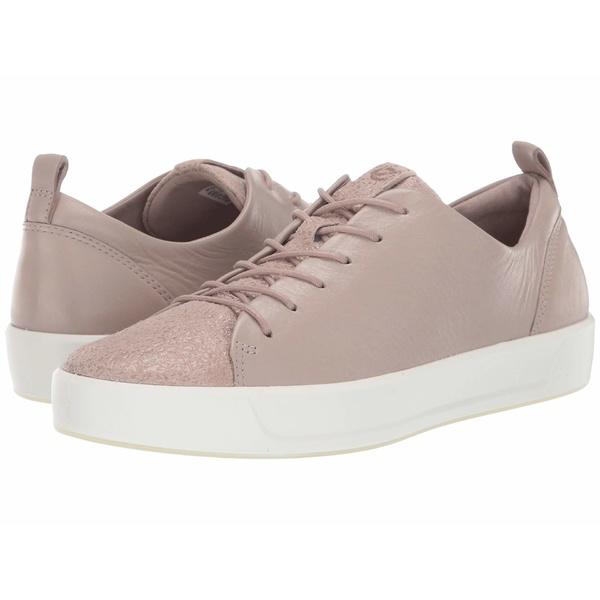エコー レディース スニーカー シューズ Soft 8 Sneaker Grey Rose/Grey Rose Cow Leather