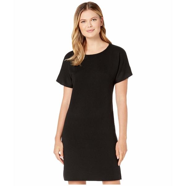 ペンドルトン レディース ワンピース トップス Short Sleeve Merino Sweater Dress Black