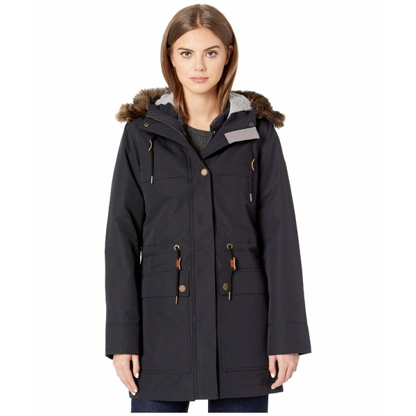 ロキシー レディース コート アウター Amy 3-in-1 Jacket True Black