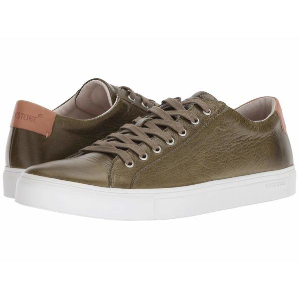 ブラックストーン メンズ スニーカー シューズ Low Sneaker - NM01 Olive
