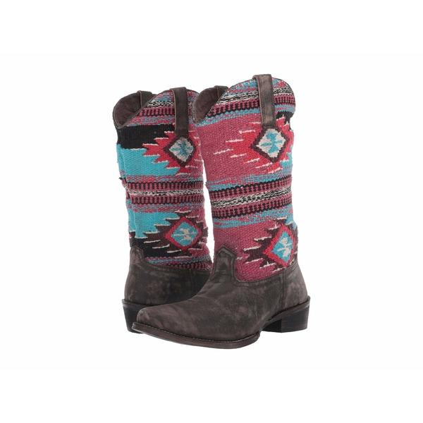 ローパー レディース ブーツ&レインブーツ シューズ Sioux Rub Off Leather/Aztec Blanket