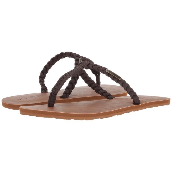 ボルコム レディース サンダル シューズ Fishtail Sandals Brown