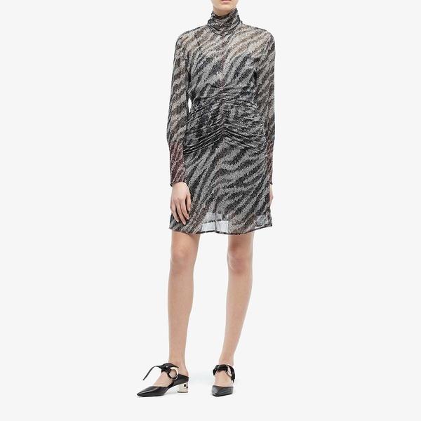 ラグアンドボーン レディース ワンピース トップス Maris Mini Dress Black Multi