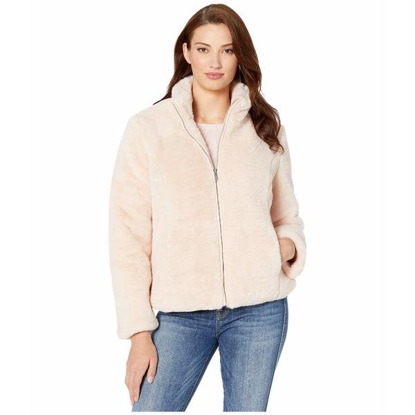 トリバル レディース コート アウター Zip Front Coat w/ Pockets Blush