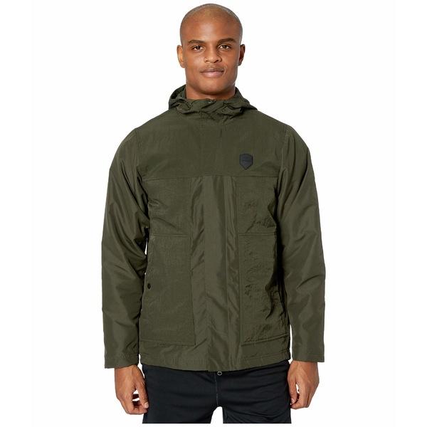 ナイキ メンズ コート アウター Lebron Jacket Protect Sequoia/Team Orange