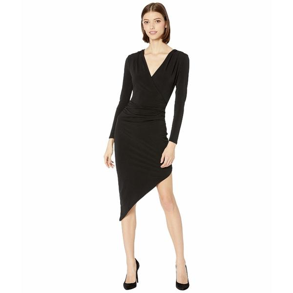 BCBジェネレーション レディース ワンピース トップス Asymmetric Jersey Dress YDM6254651 Black