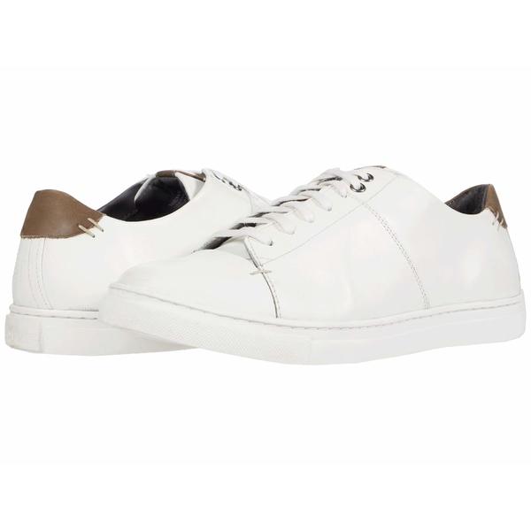 フローシャイム メンズ スニーカー シューズ Watts Cap Toe Sneaker White