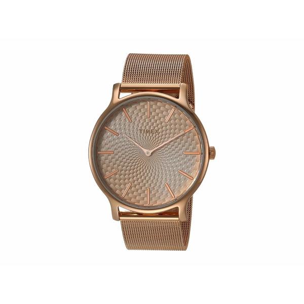 タイメックス レディース 腕時計 アクセサリー Metropolitan Rose Gold-Tone