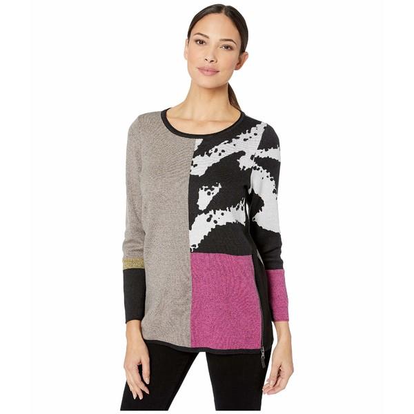 ニックプラスゾーイ レディース ニット&セーター アウター Block It Off Sweater Multi