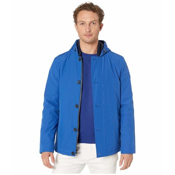 マイケルコース メンズ コート アウター Filled Hooded Outerwear Twilight Blue