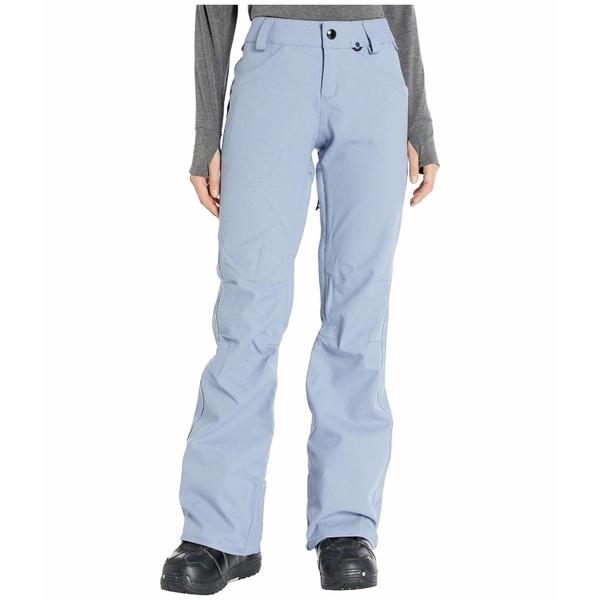 ボルコム レディース カジュアルパンツ ボトムス Species Stretch Pants Washed Blue
