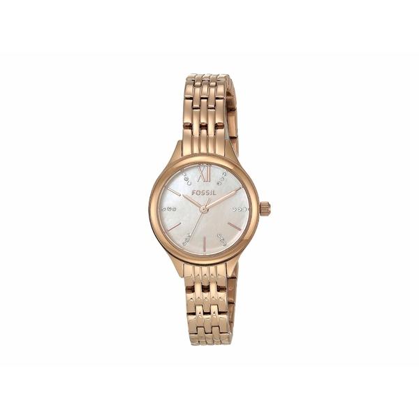 フォッシル レディース 腕時計 アクセサリー 26 mm Suitor Mini BQ3333 Rose Gold