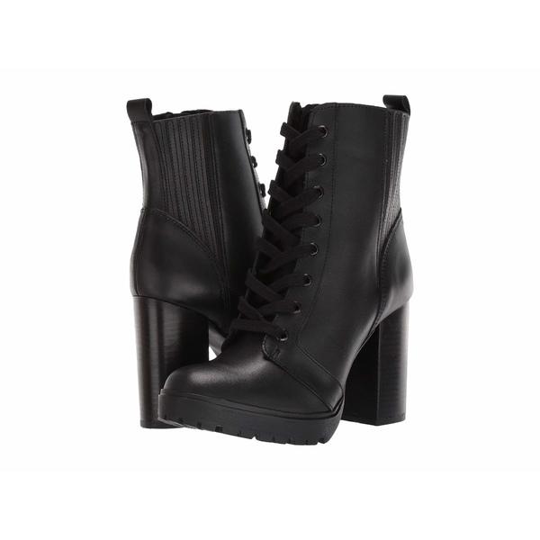 スティーブ マデン レディース ブーツ&レインブーツ シューズ Lead Bootie Black Leather