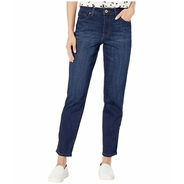 ジャグジーンズ レディース デニムパンツ ボトムス Reese Vintage Straight Leg Jeans in Crosshatch Denim Night Breeze